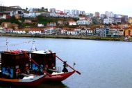 view of Vila Nova de Gaia from Porto old centre