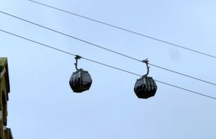 Cable car in Porto