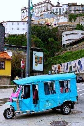 Tuk-tuk in Porto