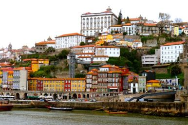 view of Porto from Vila Nova de Gaia