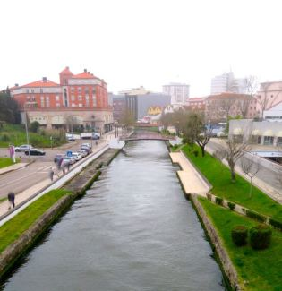 Canal in Aveiro, Portugal