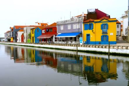 Canals. Aveiro, Portugal