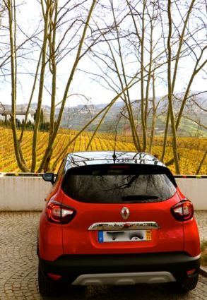 Rental car at Quinta da Pacheca Wine House Hotel