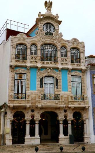 Museu Arte Nova Aveiro. New Art Museum Aveiro