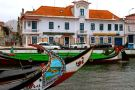 Moliceiro boats - Gondolas. Canals. Aveiro