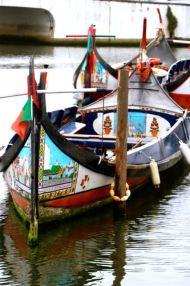 Moliceiro boats, Gondoals Art Aveiro