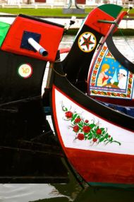 Moliceiro boats, Gondolas Art Aveiro