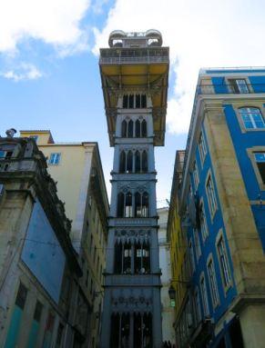 Elevador de Santa Justa, Santa Justa Elevator, Santan Justa Lift, Baixa, Lisbon, Lisboa, Portugal