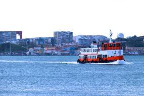 Ferry, Boat, Tours, Tajo River, Lisbon, Lisboa, Portugal