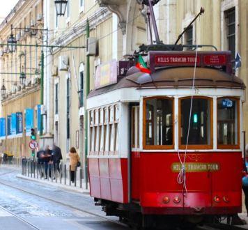 Lisbon, Lisboa, Portugal, Tram, carros americanos, city